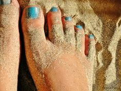Turquoise Pedicure