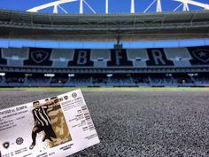 Escudo mais bonito, Estádio mais bonito, torcida mais bonita...e agora o ingresso mais bonito também!