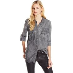 Joe's Jeans Women's Ash Shirt ($43) ❤ liked on Polyvore featuring ...