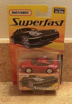2005 Matchbox Superfast Porsche 911 Turbo Red New #Matchbox #Porsche
