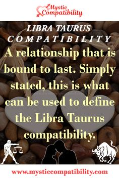 A relationship that is bound to last. Simply stated, this is what can be used to define the Libra Taurus compatibility. #Libra #Taurus #compatibility #Love #Zodiac_Signs