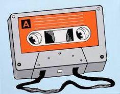 Cassette Tape Retro Pop Art Painting On Canvas Painting Wall Painting Decor, Tape Painting, Music Painting, Diy Canvas, Canvas Art, Cassette Tape Art, Cute Canvas Paintings, Painting Canvas, Retro Pop