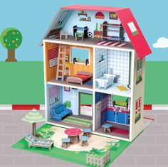 Eco play house. www.lovablyme.co.uk  #toys for boys #toys for girls #toys for 1 year old #toys for 2 year old #toys for 3 year old