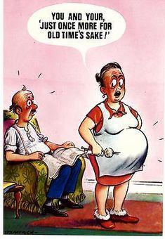 Bilderesultat for comic postcards Funny Cartoon Pictures, Cartoon Jokes, Old Cartoons, Funniest Cartoons, Funny Cute, Really Funny, Hilarious, Funny Postcards, Old Postcards