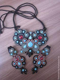 Sistemas de la joyería hecha a mano. hecho a mano Sutazhny Faraón.  Hecho a mano.