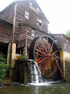 Amazing water mill