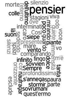 L'infinito di Giacomo Leopardi | Nuvole di poesia ~