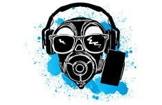 Dubstep gas mask