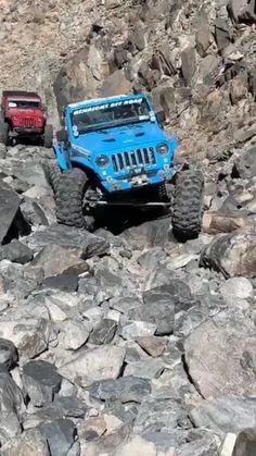 Jeep Rubicon, Jeep Wrangler Tj, Jeep Wrangler Unlimited, Jeep Cars, Jeep 4x4, Truck Flatbeds, Trucks, Volkswagen Golf Mk2, Blue Jeep