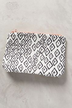 Anthropologie SCATTERED DIAMONDS POUCH #anthrofave