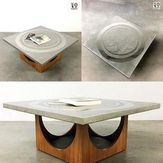 Bald auf www.19west.de: ein Brutalist Design Coffee Table aus den 1970's. #19west #design #interior #interiordesign #designinspiration #vintage #retro #möbel #möbeldesign #seventies