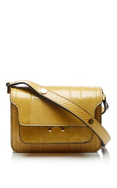 Dark Lemon Shoulder Bag by MARNI for Preorder on Moda Operandi
