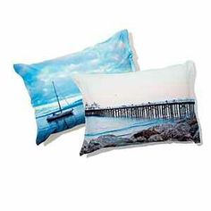 Put your vacation photos on a pillow or whatever you want.
