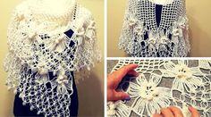 Tutorial #127: Chal Soñado a Crochet | CTejidas [Crochet y Dos Agujas]