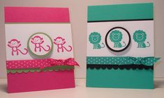 Bright Baby Cards by arlybeans - Cards and Paper Crafts at Splitcoaststampers