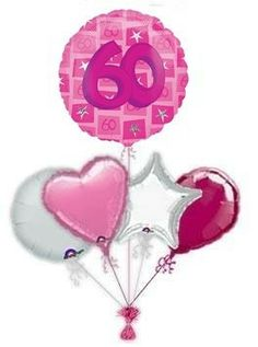 """Mark the special day with a beautiful """"Pink Star"""" birthday balloon from the balloon experts. Wonderful birthday balloons in a box. Balloons are the new flowers, Say it with Balloons. 60th Birthday Balloons, 21st Birthday, Balloon Delivery, Pink Stars, The Balloon, Special Day, Birthdays, Christmas Ornaments, Holiday Decor"""