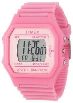 Timex Women's T2N1049J Fashion Digitals Jumbo Pink Watch ** Want to know more about the watch, click on the image.
