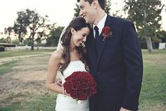 too cute. and love the bouquet.