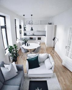 Outstanding Small Apartment Interior Design Ideas is part of Living Room Designs Interior - While interior decorating may work easily for spacious houses, it may not for apartments The reason is that most apartments […] Interior Design Kitchen, Interior Design Living Room, Bathroom Interior, Interior Decorating, Decorating Ideas, Decor Ideas, Small Apartment Interior Design, Design Bedroom, Modern Interior