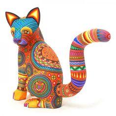 Alebrijes, Oaxacan Animals - MEXICO - Magaly Fuentes: Cat