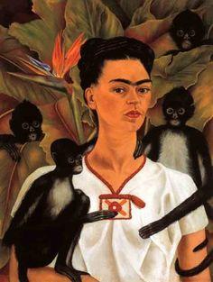 Autorretrato da artista pintado em 1943.