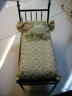 BIBY CASA DE BONECAS: Cama de palitos