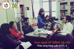 Đại điện Tâm Việt Group & Đài truyền hình Hà Nội thống nhất nội dung format cácsố đầu tiên của chương trình Thực hành Kỹ năng xã hội sẽ được phát sóng hàng tuần trên kênh 1 & 2 của HTV bắt đầu từ tháng 3/2014.