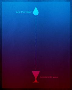 water to wine painting | Word: John (Water to Wine) — Jim LePage Art & Design