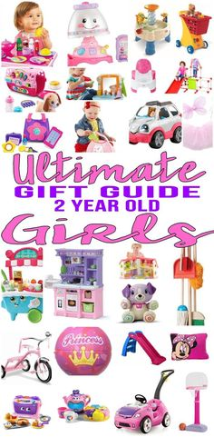 BEST Gifts 2 Year Old Girls The Ultimate Gift Guide For
