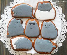 Pusheen the cat | Cookie Connection