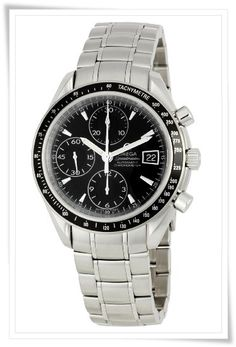 Omega Men's 3210.50 Speedmaster Chronograph Dial Watch