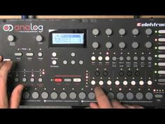 Elektron Analog Four - Creating pattern from scratch - YouTube