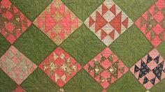 Antique Old Maid's Puzzle Quilt 1880's Pennsylvania | eBay