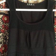 Oom Ethikwear Dresses | Oom Ethikwear Black Fit Flare Dress | Poshmark Navy Blue Floral Dress, Floral Skater Dress, Fit Flare Dress, Fit And Flare, Leith Dress, Open Dress, Bustier Dress, Denim Shirt Dress, Faux Wrap Dress