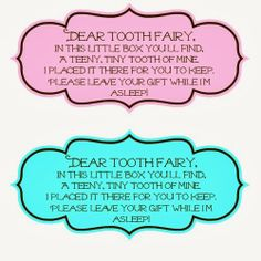 Tooth Fairy Box - Busy Moms Helper Surprise your kids with their very own homemade Tooth Fairy Box. They will love the customization and it will build up the excitement for that special day.