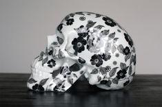 Floral Porcelain Skulls by NooN