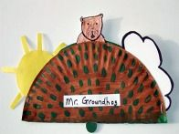 Cute Groundhogs day craft