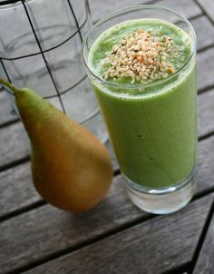 Vinterboosta! | Aftonbladet Healthy Smoothies, Smoothie Recipes, 300 Calorie Lunches, 300 Calories, Cantaloupe, Wellness, Food Porn, Food And Drink, Pudding