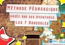 Méthode Pédagogique basée sur des aventures : Les 7 Boussoles