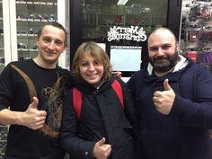 Aprile 2016 - Pietro Tanzi con Boss & Sca