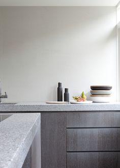 Sober materialisation in grey tones, Remy Meijers.