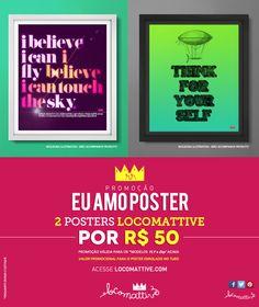 PROMOÇÃO sensacional -> 2 posters por um preço incrível http://locomattive.com/69153/promocoes