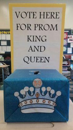 Prom ballot box