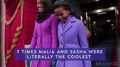 Proof Malia and Sasha Obama were literally the coolest.