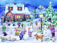 Snowman Celebration (88 pieces)