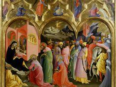 Adoration of the Magi by Lorenzo Monaco
