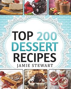 Dessert Cookbook Top 200 Dessert Recipes Delicious and Healthy Recipes for Any Occasion Christmas New Years Eve etc Cakes Muffins Cookies Chocolate Bars Ice Cream Marshmallow Candy * Check out the image by visiting the link. No Cook Desserts, Lemon Desserts, Lemon Recipes, Baking Recipes, Delicious Desserts, Yummy Food, Healthy Recipes, Fun Recipes, Healthy Desserts