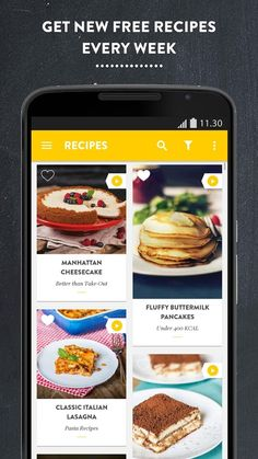 Welcome to the roundup of the best new Android applications, games, and live wallpapers that went live in the Play Store or were spotted by us in the Pasta Recipes, New Recipes, Favorite Recipes, Buttermilk Pancakes Fluffy, Italian Lasagna, Android Design, Food Videos, Recipe Videos, Android Apps