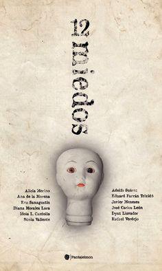 """""""Lirios lilas"""", cuento en el libro recopilatorio """"12 miedos"""" (ed. Pantaleimon, 2012)."""