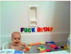 Take inappropriate but funny pictures when your child is young, then give them to him/her on 18th birthday or wedding day!